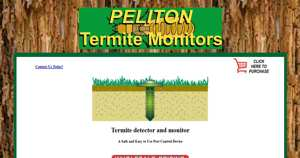 Termite Monitors and Termite Detectors